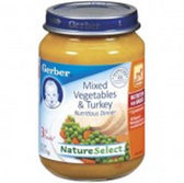 Gerber  Baby 3rd Food Mixed Vegetables & Turkey