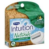 Intuition Naturals Sensitive Care Refill - 3 Count