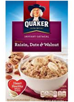 Instant Oatmeal - Raisin, Dates, & Cinnamon -11.5oz
