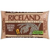 Riceland Extra Long Grain Natural Brown Rice -2 Lb