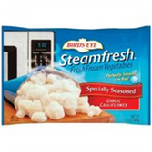 Birds Eye Steam Fresh Specially Seasoned Garlic Cauliflower-12oz