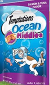Whiskas Temptations Temtations Ocean Middles Salmon &Tuna -3oz