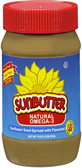 Sun Butter Sunflower Seed Spread - Natural Omega - 3 -16oz
