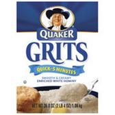 Quaker Quick Grits -12 pk