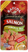 Safecol Gourmet on the Go - Medium Style Pink Salmon -3.5oz