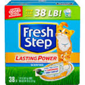 Fresh Step Multi-Cat Scoopable Scented Cat Litter-38oz