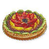 Tart With Assorted Fruit