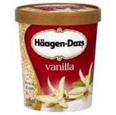 Haagen Dazs Vanilla Ice Cream - 28 oz