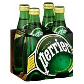 Perrier Plain Mineral Water - 4 pk