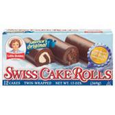 Little Debbie Swiss Cake Rolls -12 pk