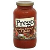 Prego Italian Sausage & Garlic Sauce - 24 oz