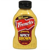 French's Spicy Brown Mustard -12 oz