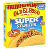 Old El Paso Super Stuffer Taco Shells -10 ct