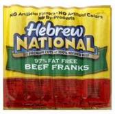 Hebrew National Beef Franks Fat Free -11oz