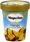 Haagen-Dazs - Mango Sorbet -16oz