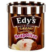 Dreyers / Edys Grand Neapolitan Ice Cream -1.5 qt