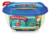 Challenge Spreadable Butter - Sea Salt & Cracked Pepper -15oz