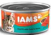 Iams Cat Fillets With Tuna -5.5oz