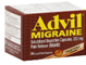 Advil Migraine Ibuprofen 200 mg Liquid Filled Capsules, 40 CT