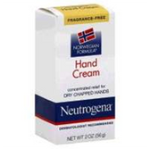Neutrogena Hand Cream Unscented - 2 Oz