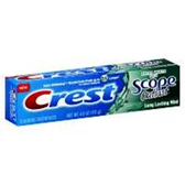 Crest Extra White Plus Scope Outlast Lasting Mint - 4 Oz