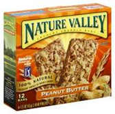 Nature Valley Snack Bar Peanut Butter Granola -6 pk