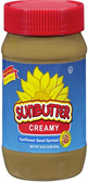 Sun Butter Sunflower Seed Spread - Creamy  -16oz