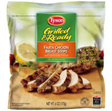 Tyson Frozen Grilled Chicken Breast Strips -22 oz