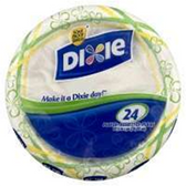 Dixie Ultra Value Pack Plates - 24 Count