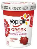 Yoplait - Strawberry Greek Frozen Yogurt -1 pint