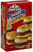 Jimmy Dean- Snack Size Biscuit Sausage Sandwich -10ct