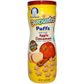 Gerber Fruit Puffs Apple Cinnamon-1.48oz