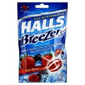 Halls Strawberry Cough Drops - 30 Count