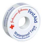 Johnson and Johnson Waterproof Adhesive 0.5 Inch Tape - 10 Yard