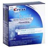 Crest Whitestrips 3d White 2hr Express - 4 Count