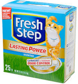 Fresh Step Lasting Power Cat Litter -25LB
