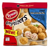Tyson Frozen Chicken Cordon Bleu -25 oz