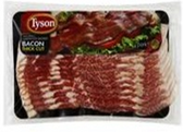 Tyson Center Cut Bacon - Naturally Hickory Smoked -12oz
