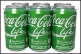 Coca Cola Life Cans -6pk