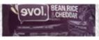 Evol Bean Rice and Cheddar Burrito, 6oz