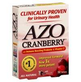 Azo Cranberry Tablets For A Healthy Urinary Tract - 50 Count