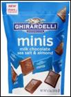 Ghirardelli Dark Chocolate Minis Pouch -4.4oz