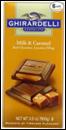 Ghirardelli Chocolate Bar Sea Salt & Caramel -3.5oz