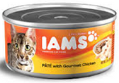 Iams Cat Pate With Chicken -5.5oz