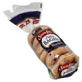 Sara Lee 6ct Deluxe Pre-Sliced Blueberry Bagels -22 oz