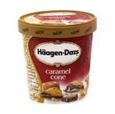 Haagen Dazs Caramel Cone Ice Cream - 14 oz