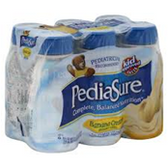 Pediasure Banana Cream Nutritional Drink -6/6oz