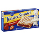 Pillsbury Toaster Strudel Pastries Strawberry -6 ct