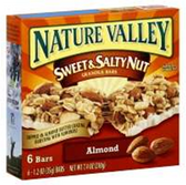 Nature Valley Almond Sweet And Salty Nut Granola Bars -6 pk