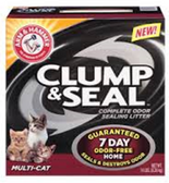 Arm & Hammar Clump & Seal Multicat Litter -14LB